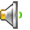 low, volume, audio icon