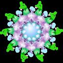 symbol,purpel icon