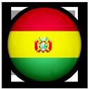 bolivia, of, flag icon