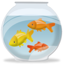 Fish bowl icon