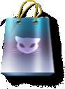 promo, cat, bag, artdesigner icon