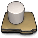 some, cylinder, white icon