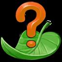 help,leaf icon