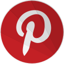 terest, pinter, modern, social, network, pinterest, modern media icon