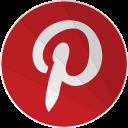 terest, pinter, modern, social, network, pinterest, modern media icon