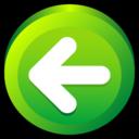 button,previous,backward icon