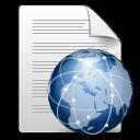 Mimetypes text html icon