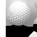 kolf, golf, sport icon