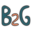 business 2 government, business model, b2g, business to government icon