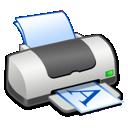 printer, landscape icon