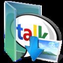 google,talk,picture icon