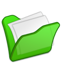 red, folder, mydocuments icon