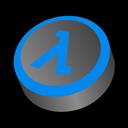 Blue, Half, Life, Shift icon