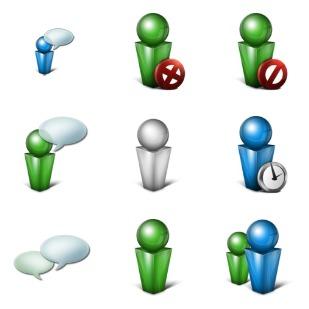 Original Messenger icon sets preview