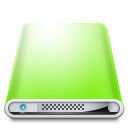 Drives Colours Light Green icon