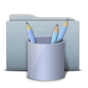 folder,graphite,work icon
