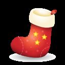 christmas, sock icon