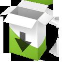 box,down icon