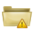 exclamation, folder, error, warning, alert, wrong icon