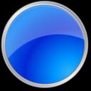 circle,blue,round icon