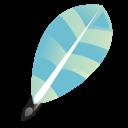 Feather, Write icon