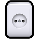 power, electricity, standard, plug, socket icon