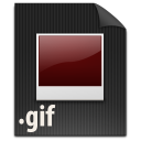 document, paper, gif, file icon