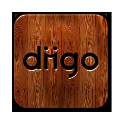 square, diigo, logo icon