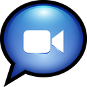 mac, ichat, text, facetime icon