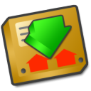 download,manager,descending icon