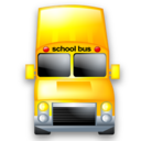 transportation, school bus, service icon