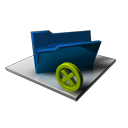 folder,empty,delete icon