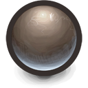 Brown Sphere icon