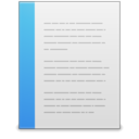 x office document icon