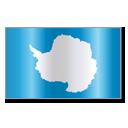Antarctica, Aq, Ata, Flag icon