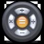 Calculator, Round icon