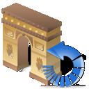 arcodeltriunfo, refresh, reload icon