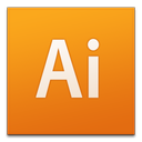 adobe, cs3, illustrator icon