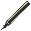 Pen, Technical, Vintage icon