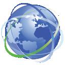 internet, earth, network icon