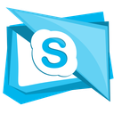 social, chat, talk, call, skype icon