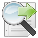and, gtk, seek, find, search, replace icon