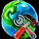 earth,setup icon