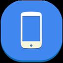 Flat, Phone, Round icon