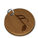 Woody music icon