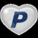 media, social, paypal icon