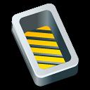box,open,yellow icon