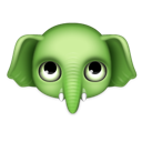 elephant, animal, evernote icon