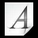 application,font,afm icon