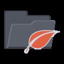 leaf,folder icon
